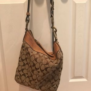 Authentic Honey Brown Coach Purse
